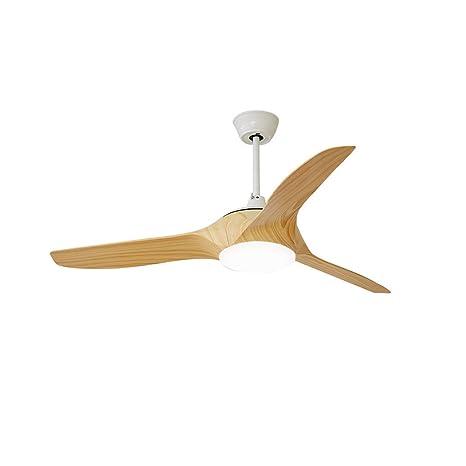 Luz del ventilador de techo Con mando a distancia LED Iluminación ...
