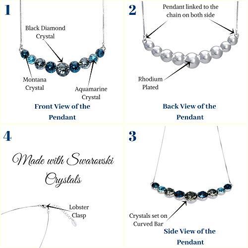 1d92d8a1e188c Necklaces - UPSERA Fashion Bib Necklace Made with Swarovski Crystals ...