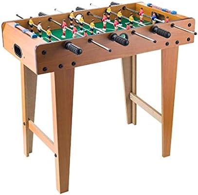 WOAIM 69cm Futbolín de Mesa Portátil Futbolín Infantil para niños Habitación Mini Juego de fútbol Juego de Mesa para los Principiantes a intermedios Jugadores para el hogar, Sala de Juegos, Arcade: Amazon.es: