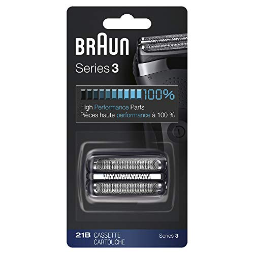 Braun 21B Shaver Replacement Part, Black, Compatible with Models 300s and 310s