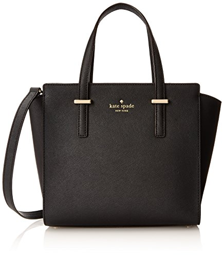 kate spade new york Cedar Street Small Hayden Top Handle Bag, Black, One Size by Kate Spade New York