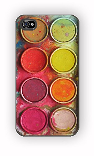 Watercolor Set Special for iPhone 4/4S Case