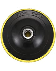Dciustfhe Polijstschijf stuetzschijf schuurschijf klittenband plaat M14 voor polijstmachine nieuw K1 schroefdraaddiameter: 125 mm