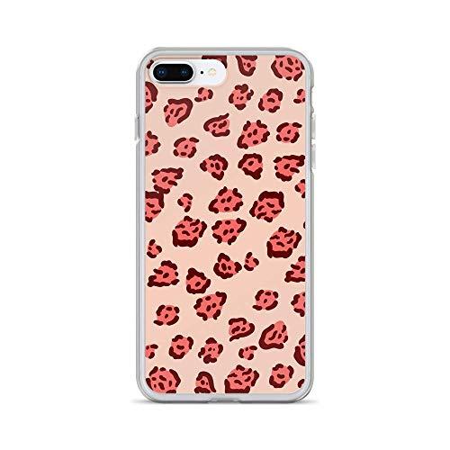 ANZEN COVERS iPhone Case Pink Leopard Print (iPhone 7 Plus/8 Plus)