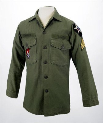 JOHN LENNON STYLE REVOLUTION US ARMY SHIRT JACKET VIETNAM THE BEATLES HALLOWEEN COSTUME ()