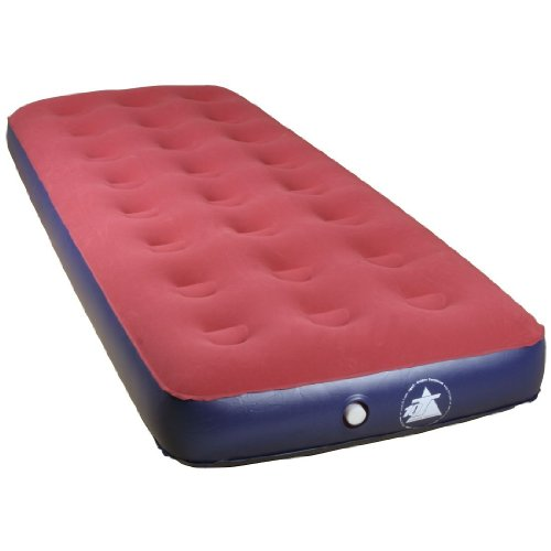 10T Velo Single - Standard air bed air mattress Velour Surface 192X77X24 CM