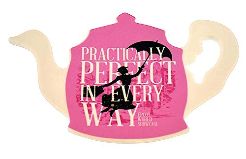 (Disney Mary Poppins Practically Perfect Teapot Shaped Ceramic Trivet)