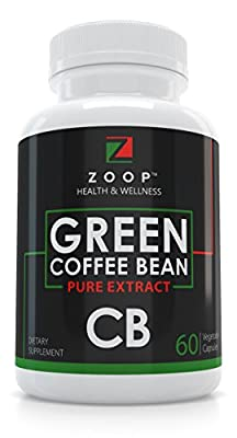 Zoop Green Coffee Bean Extract For Weight Loss Pills, Natural Diet Pills And Appetite Suppressant For Weight Loss, Metabolism Booster And Blood Sugar Support.