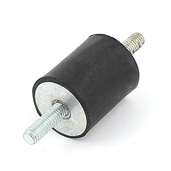 1 x 1 1/8 DE goma Amortiguador de vibraciones aislador Monta M6 x 18mm