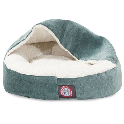 18 inch Villa Azure Canopy Cat Bed