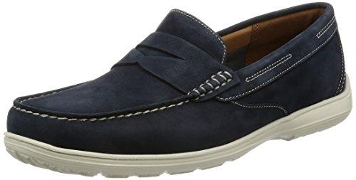 Rockport Total Motion Loafer Penny, Mocasines para Hombre, Azul (new dress blue), 40 EU (6.5 UK)
