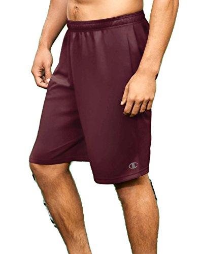 Core Maroon Pants - Champion Men's Core Training Short, Team Maroon, X-Large