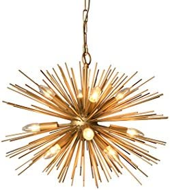 AA Warehousing LZ3349-12A Y-D cor Gold 12 Light Chandelier Finish