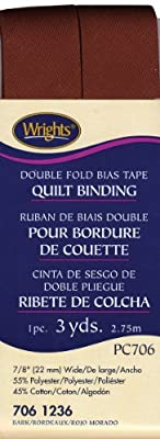 "Wrights - Double Fold Quilt Binding 7/8"" 3 Yards by Wrights"