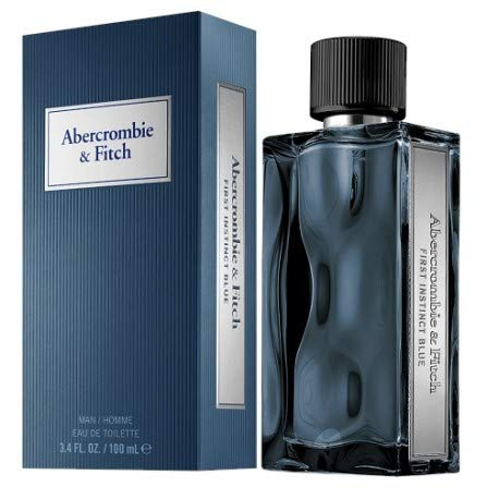 Abercrombie & Fitch First Instinct Blue for Men Eau de Toilette Spray, 3.4 Ounce from Abercrombie & Fitch