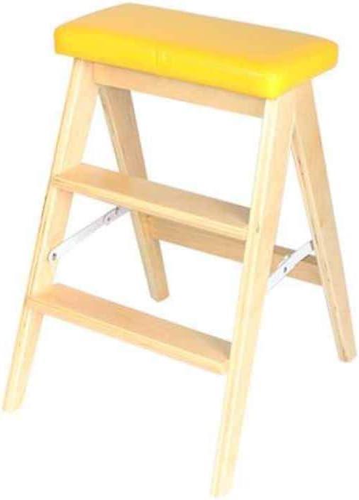 QQXX 2 peldaños Escalera de Seguridad Antideslizante Escalera Plegable Taburete de Cocina Herramientas de jardinería doméstica: Amazon.es: Hogar