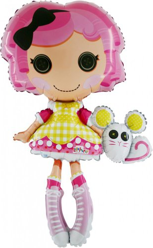 42 Inch Lalaloopsy Foil Shaped Balloon (CS57) [Toy]]()