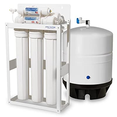 APEC Commercial Grade Reverse Osmosis Water Filter System with 14 Gallon Tank