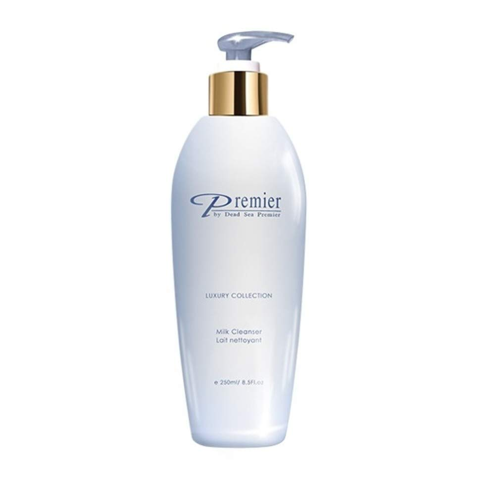 Premier Dead Sea Classic gentle Milk Cleanser for all Skin Types including sensitive skin, Removes Impurities and Make-up 8.45fl oz