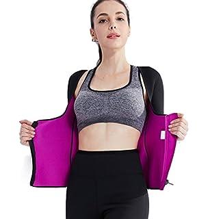 82ed76738c34f Valentina Womens Long Sleeve Arm Shaper Slimming Shirt Waist Cincher Firm  Control Bodysuit for Weight Loss
