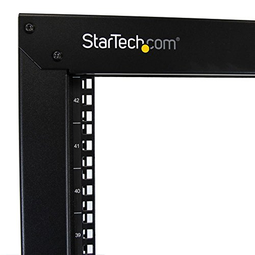 StarTech.com 2-Post Server Rack with Sturdy Steel Construction 2POSTRACK42 by StarTech (Image #2)