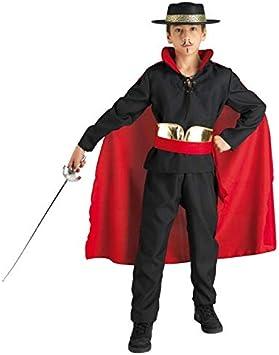 chiber Disfraces Disfraz Niño Don Diego El Zorro (Talla 4 (3-4 ...