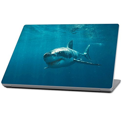【数量限定】 MightySkins Protective [並行輸入品] Durable and B0789B1KKR Unique Vinyl Decal wrap Durable cover Skin for Microsoft Surface Laptop (2017) 13.3 - Shark Blue (MISURLAP-Shark) [並行輸入品] B0789B1KKR, きもの舞姫:7c0dc15c --- senas.4x4.lt