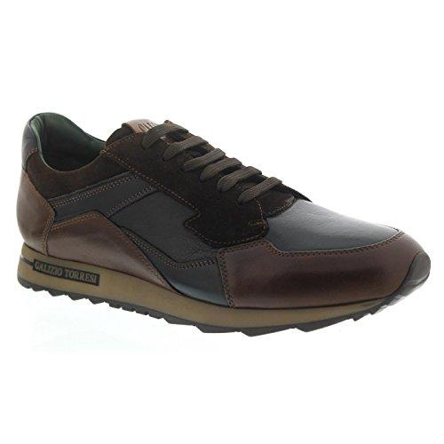Galizio Torresi Hommes Sneaker Brun