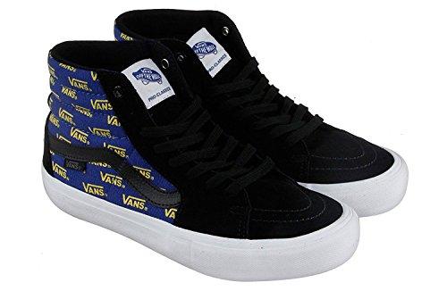 ed59a08385ea Vans SK8 Hi Pro Black Cyber Yellow High Tops Size 13 Mens - Buy Online in  Oman.