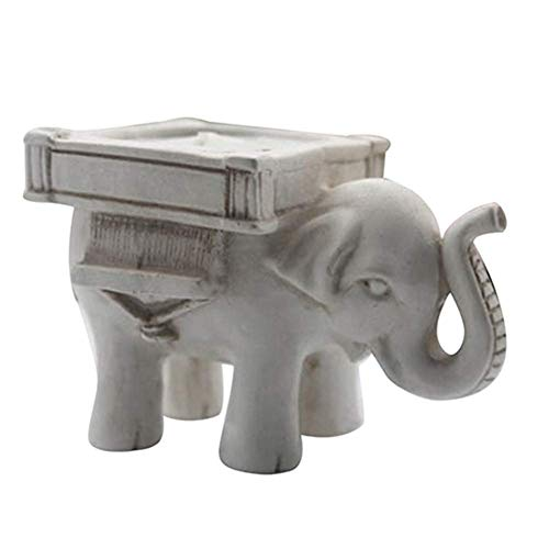 andy coolRetro Lucky Elephant Tea Light Candle Holder Candlestick Wedding Favor Home Decor Durable and Useful ()