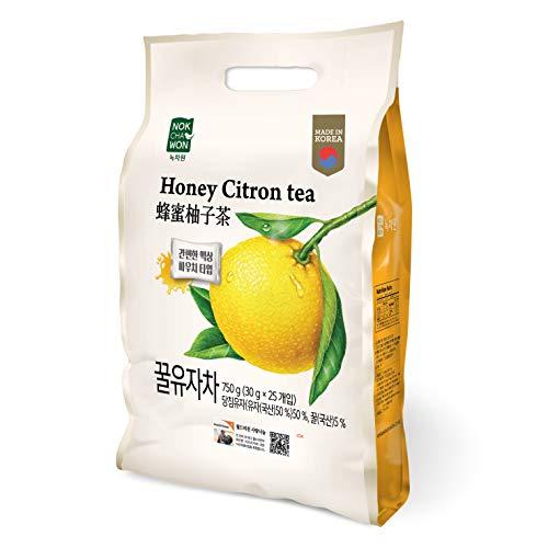 Korean Traditional Citron Tea With Honey (Portable Pouches 30g x 25P) ()