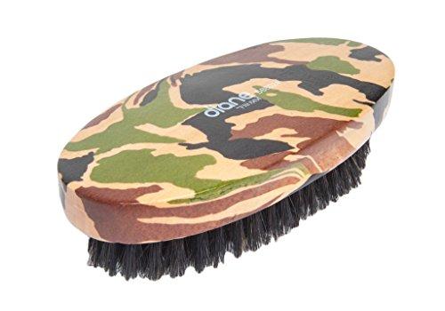 (Diane 100% soft boar military brush, camo,DBB0244)