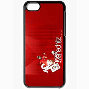 Personalized iPhone 5C Cell phone Case/Cover Skin Andreas Ivanschitz Austria Euro 2008 EURO 2008 UEFA Austria Andreas Ivanschitz Football Black