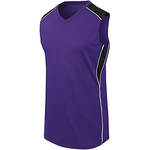 (High Five Womens Dynamite Jersey,Purple/Black/White,X-Large)