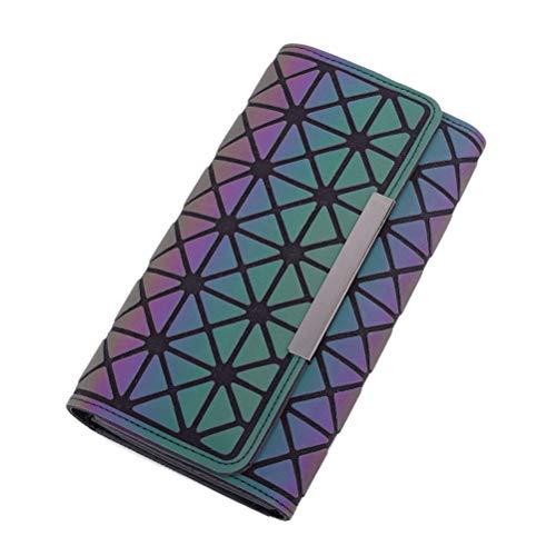 Codice E Lunghi Postale 19 2 10cm Griglia Geometrica 5 Portafoglio Luminoso Della Modo 1 Di Borsa 0qdwdtB