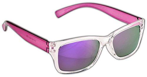 Dice Unisex Kinder Sonnenbrille, Shiny Crystal Purple, One size, D03370-1