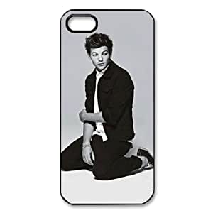 CTSLR Music & Singer Series Protective Hard Case Cover for iPhone 5 - 1 Pack - One Direction - Louis Tomlinson 1 hjbrhga1544