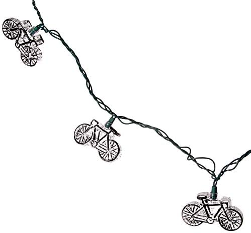 DEI Bicycle String Light, green wire