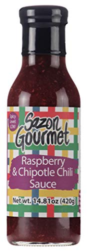 (SAZON GOURMET 2 PACK RASPBERRY - CHIPOTLE SAUCE (14.81)