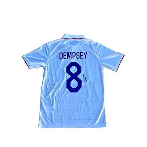 123b3c7376a 85%OFF Clint Dempsey Signed Jersey - USA Olympics United States - JSA  Certified - Autographed Soccer Jerseys