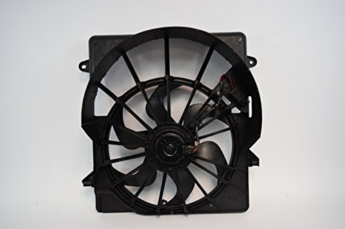 RADIATOR CONDENSER COOLING FAN FOR JEEP FITS LIBERTY (Jeep Liberty Fan)