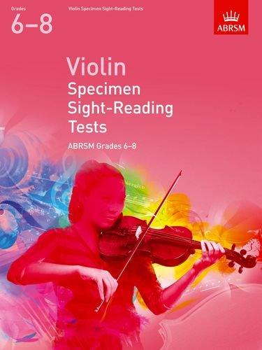 Violin Specimen Sight Reading Tests 6-8 (ABRSM Sight-reading)