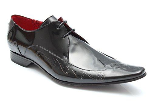 Jeffery West Muse G0755A - Chaussures de ville élégantes - cuir - homme - Noir