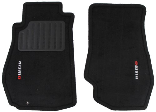 Nissan Genuine 74902-RNZ30 NISMO Carpeted Floor Mats