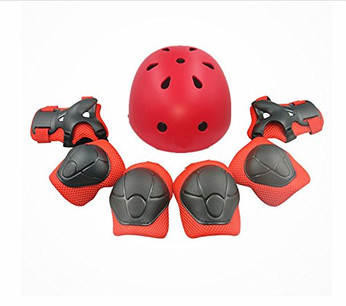 Child-Multi-Sport-Helmet-With-Knee-Pads-Elbow-Wrist-Protection-Set-for-Skateboard-Cycling-Skate-Scooter