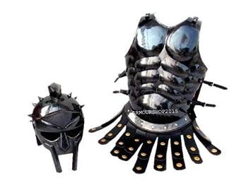 Amazon.com: Rápido traje de fécula medieval Romano Armor ...