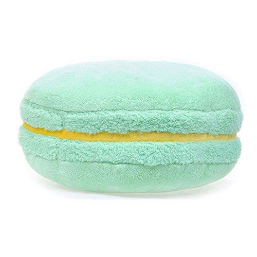 Buy Bargain Melife® Creative Candy Color Macaron Shaped Plush Pillow Cushion (Light Green)