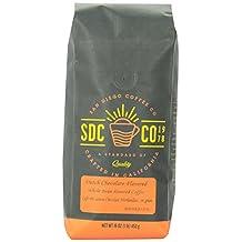 San Diego Coffee Dutch Chocolate Flavored, Whole Bean Roasted Coffee, 16-Ounce (1-Pound)