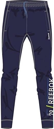 Reebok – Pantalones de chándal – Pantalón chándal Actron, Azul ...