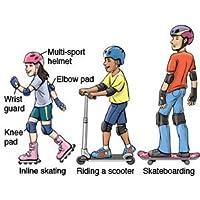 SPPARTOS Skating/Cycling Protection kit Set